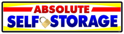 Absolute Self Storage logo